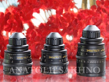 Rent: ARRI ULTRA PRIME 6 LENSES (16, 24, 32, 50, 85, 135)