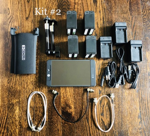 SmallHD 702 Bright kit #2 (Batteries)