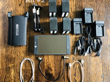 Rent: SmallHD 702 Bright kit #2 (Batteries)