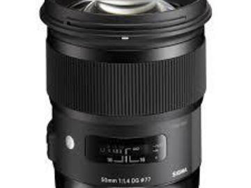 Sigma 50mm ART