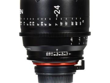 Rent: Rokinon XEEN 24mm T1.5