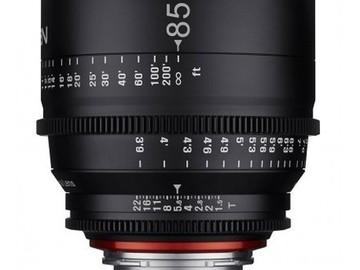 Rent: Rokinon XEEN 85mm T1.6