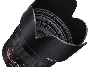 Rokinon 50mm f/1.4 IF UMC Lens for Sony E-Mount
