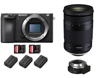 Rent: Sony a6500 4k + Tamron 18-400mm f/3.5 + Metabones , Full Kit
