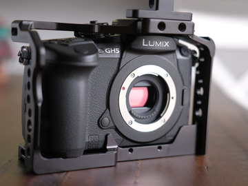 Rent: Panasonic Lumix DC-GH5 Digital Camera W/ Cage