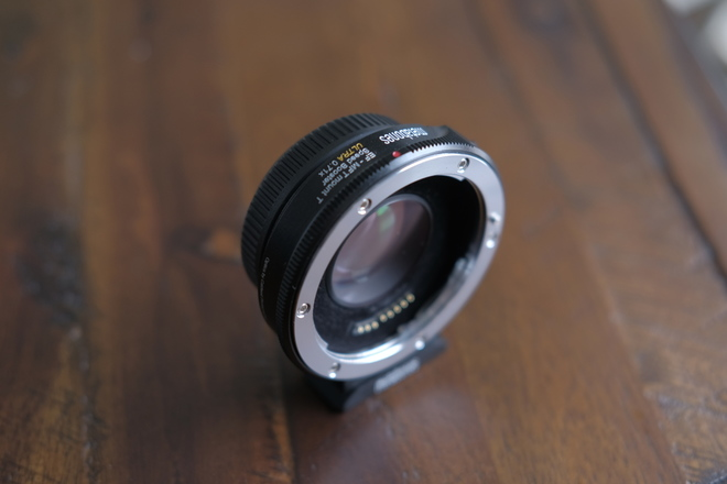 Metabones Canon EF Lens to MFT Speed Booster ULTRA 0.71x