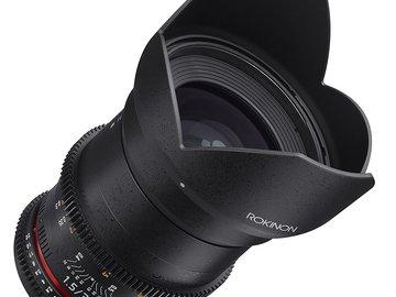 Rent: Rokinon Cine DS 35mm T1.5