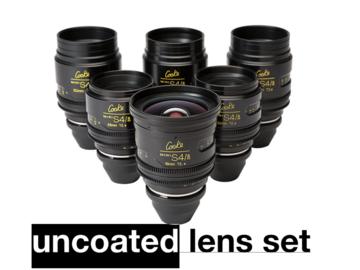 Cooke Mini S4i T/2.8 6-set Uncoated Lens Set