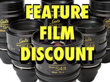 Cooke Mini S4i T/2.8 6-Set Feature Discount