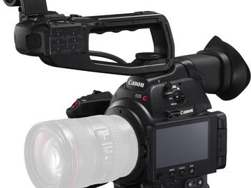 Rent: Canon EOS C100 Mark II