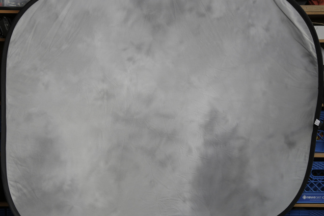 Two sided 6'x5' Lt Grey/Blue Grey Collapsible Background