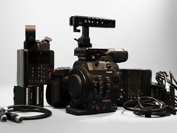 Rent: Canon C300 Mark II w/Odyssey7Q+ (RAW)
