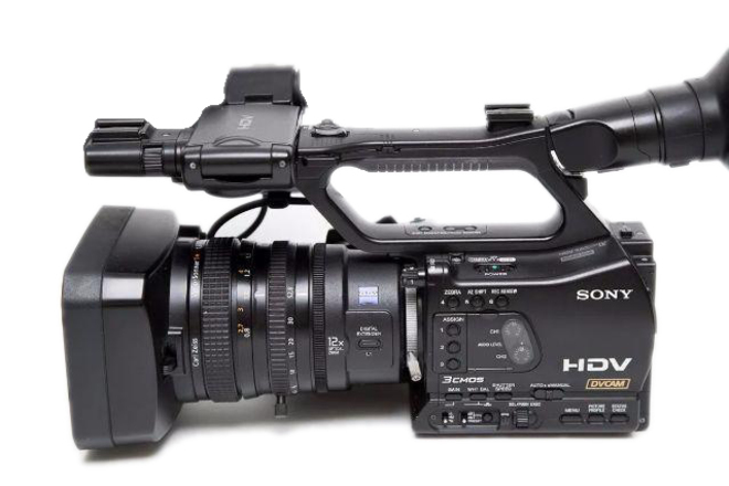 Sony z7u 1080P Camera with  Ninja Blade Prores Recorder