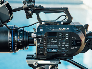 Rent: Sony FS7 Package w/ Extension Unit and EF Speedbooster!