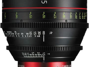 Rent: Canon CN-E 35mm T1.5 L F Cine Prime Lens EF Mount