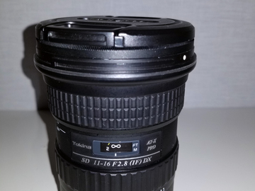 Rent: Tokina AT-X 11-16mm f/2.8 116 Pro DX II EF Mount