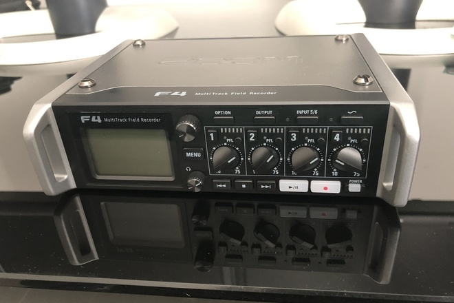 Zoom F4 Multitrack Field Recorder with Timecode