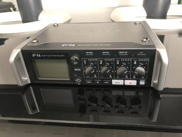 Rent: Zoom F4 Multitrack Field Recorder with Timecode