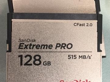 Rent: SanDisk 128GB CFast 2.0 Extreme PRO