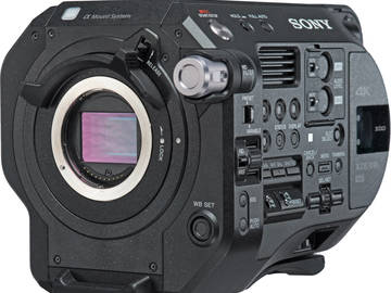 Rent: SONY | PXW FS7 II | 4K CAMERA || Optional Extension