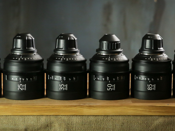 Sony CineAlta 4K Primes Lens Set