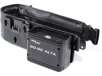 Rent: ANTON BAUER | BATTERY BELT | 13V-30V | GOLD MOUNT