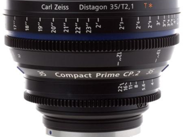 Zeiss Compact Prime CP.2 35mm T1.5 PL