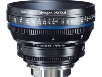 Rent: Zeiss Compact Prime CP.2 25mm T2.1 PL