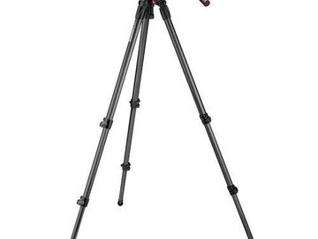 Rent: Manfrotto Nitrotech N8 Video Head & 535 Carbon Fiber Tripod