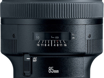 Rent: Canon EF 85mm f/1.2 L II USM