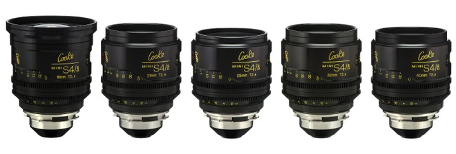 Cooke Mini S4 5-set