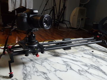 DSLR Dolly Track Parallax Sliders