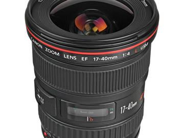 Rent: Canon EF 17-40mm f/4 L USM