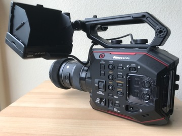 Rent: Panasonic AU-EVA1 with Lens and Tripod