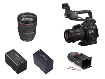 Rent: Canon EOS C100 Dual Pixel AF w/ Canon EF 24-105mm 4L