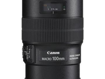 Rent: CANON LENS | EF 100MM F/2.8L IS MACRO USM | KIT