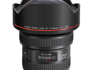 Rent: CANON LENS | EF 11-24MM F/4L USM | KIT