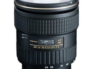 Rent: Tokina AT-X 24-70mm f/2.8 Pro FX