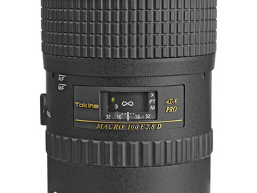 Tokina AT-X 100mm f/2.8 M100 AF Pro D Macro