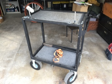 Rent: tow hitch production cart