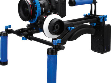 Rent: Redrock Micro DSLR Field Cinema Bundle shoulder mount with m