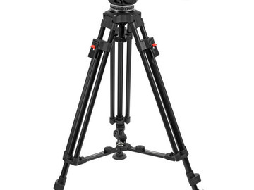 Rent: Cartoni Focus HD Fluid Head (26 lbs payload)  & Two-Stage