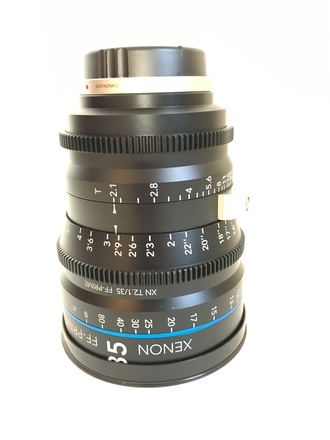Schneider Xenon FF 35mm T2.1 Lens with Canon EF Mount