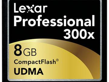 Rent: Lexar Compact Flash Cards - 8GB (3)