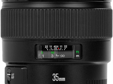 Rent: Canon EF 35mm f/1.4 L USM