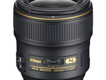 Rent: NIKON LENS | 35MM F/1.4G | KIT