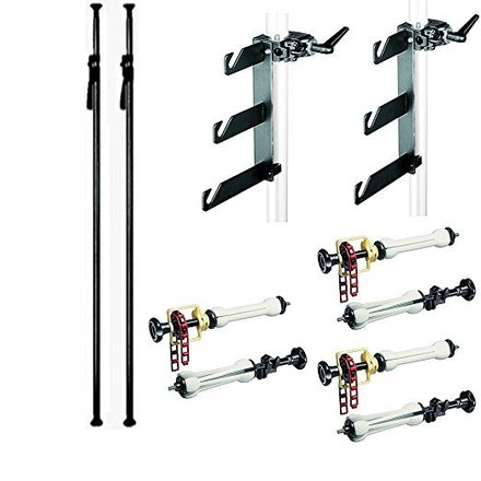 Seamless Backdrop System Manfrotto 2961D Deluxe Autopole Kit