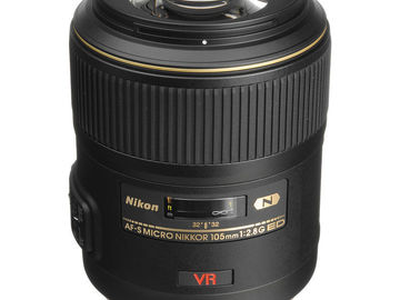 Rent: NIKON LENS | AF-S 105MM F/2.8G MICRO ED-IF VR | KIT