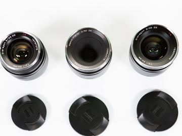Rent: Zeiss Misc Lens Set