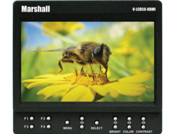 Rent: Marshall V-LCD50-HDI 5-in Field Monitor